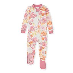 Burt's Bees Baby® Organic Cotton Sunset Bloom Sleeper in Pink/Orange