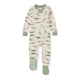 Burt's Bees Baby® Gators on the Move Organic Cotton Sleeper in Green