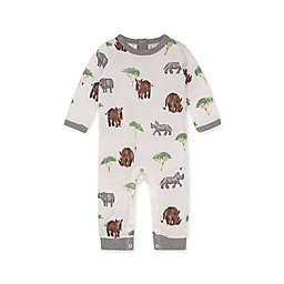 Burt's Bees Baby® Radiant Rhinos Jumpsuit in Heather Grey