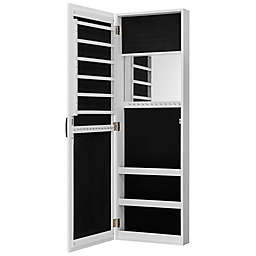 FirsTime & Co.® Rustic Arch Jewelry Armoire in White
