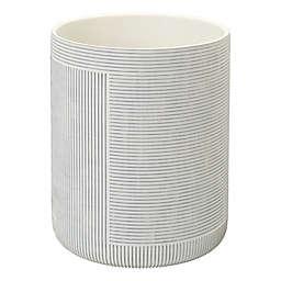 Studio 3B™ Geo Stripe Wastebasket in Coconut Milk