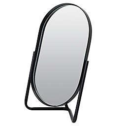 Studio 3B™ Vanity Mirror on Metal Stand in Matte Black