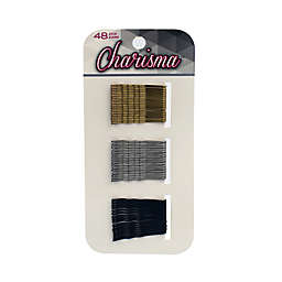Charisma™ 48-Piece Mini Metallic Bobby Pins