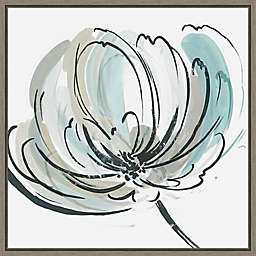 May Poem II by Asia Jensen 16-Inch Square Framed Wall Art