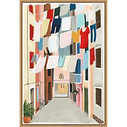 Laundry Day II 16-Inch x 23.25-Inch Framed Wall Art