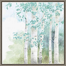 Natures Leaves III 16-Inch Square Framed Wall Art