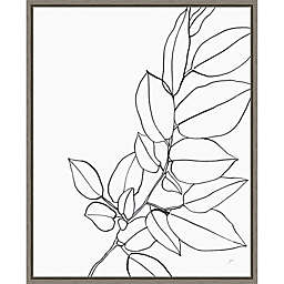 Magnolia Branch II 16-Inch x 19.62-Inch Framed Wall Art