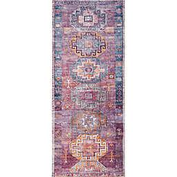 Wild Sage™ Imani Aztec 2' x 5' Runner in Blue/Purple