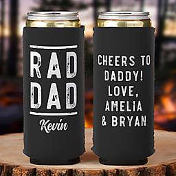 Rad Dad Slim Can Cooler in Black