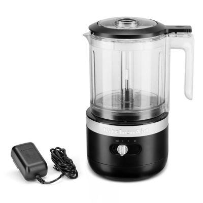 KitchenAid Cordless 5-Cup Black Matte Food Chopper
