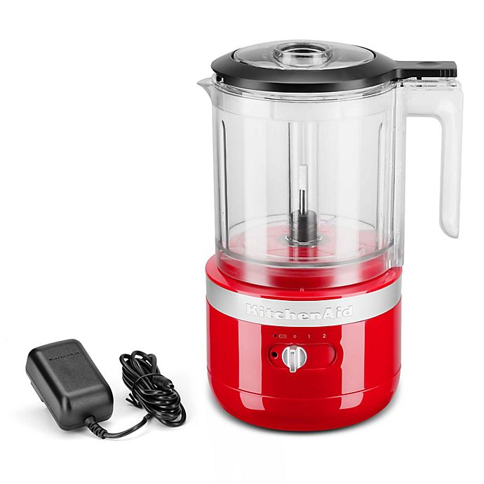 Alternate image 1 for KitchenAid® Cordless 5 Cup Food Chopper