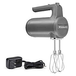 KitchenAid® Cordless 7 Speed Hand Mixer in Charcoal Grey