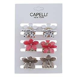 Capelli® New York 6-Pack Mini Flower Clips