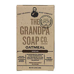 Grandpa Soap 4.25 oz.  Face & Body Bar Soap in Oatmeal