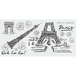 RoomMates® 15-Piece Eiffel Tower Sketch Peel & Stick Giant Wall Decal Set