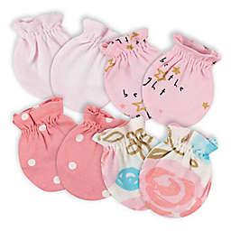 Gerber® 4-Pack Princess No Scratch Mittens in Pink