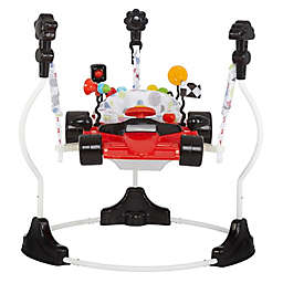 Dream on Me Champ Racecar Activity Center and Jumper in Red