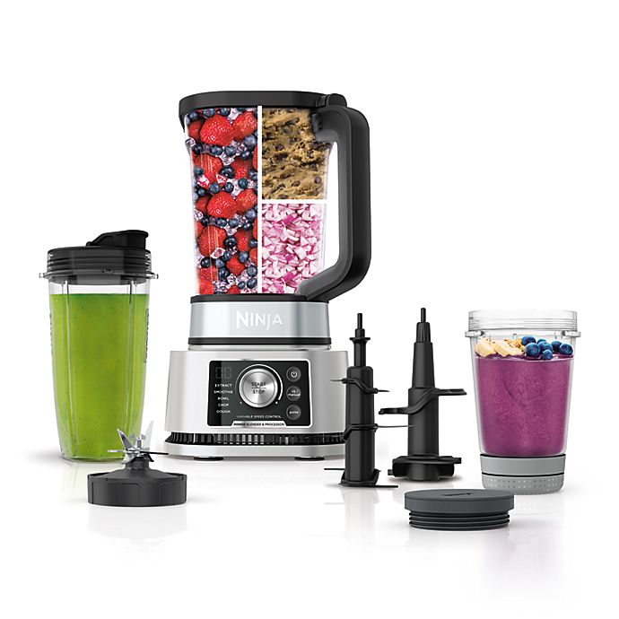 Alternate image 1 for Ninja® Foodi® Power Blender & Processor System with Smoothie Bowl Maker & Nutrient Extractor