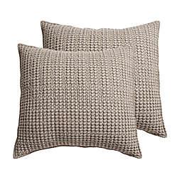 Levtex Home Mills Waffle European Pillow Sham (Set of 2)