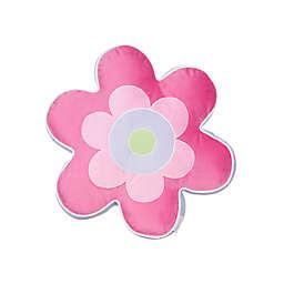 Levtex Home Mya Flower Pillow in Pink