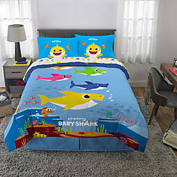 Baby Shark 5-Piece Full Bed in a Bag Set