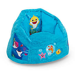 Delta Children® Nickelodeon Baby Shark Cozee Fluffy Chair in Blue