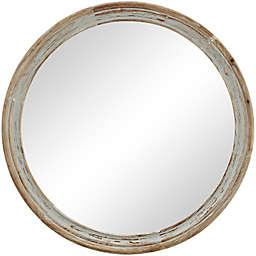 FirsTime & Co. Clybourne Round Mirror in Grey