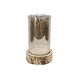 Bee & Willow™ Large Farmhouse Hurricane Pillar Candle Holder
