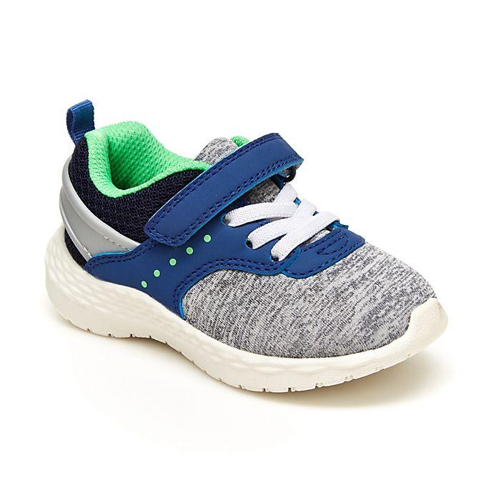 Alternate image 1 for carter's® Size 8 Sneaker in Grey/Blue