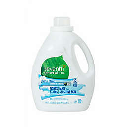 Seventh Generation™ Free and Clear 100 oz. Liquid Laundry Detergent