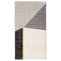 ECARPETGALLERY Visby 2'8 x 4'11 Accent Rug in Black
