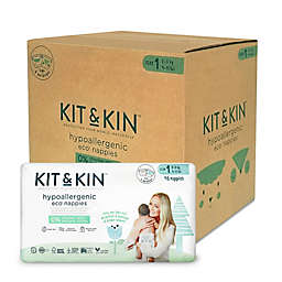 Kit & Kin™ Hypoallergenic Size 1 160-Count Disposable Diapers<br />