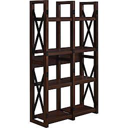 Ameriwood Home Broadmore Wood Veneer Bookcase