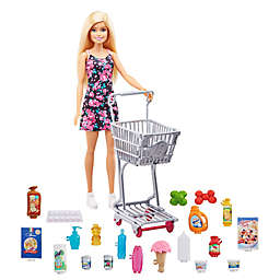 Mattel 25-Piece Barbie® Doll and Shopping Set