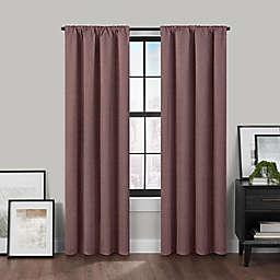 Brookstone™ Birch Slidewell 63-inch 100% Blackout & Draft Blocker Curtain Panel in Berry