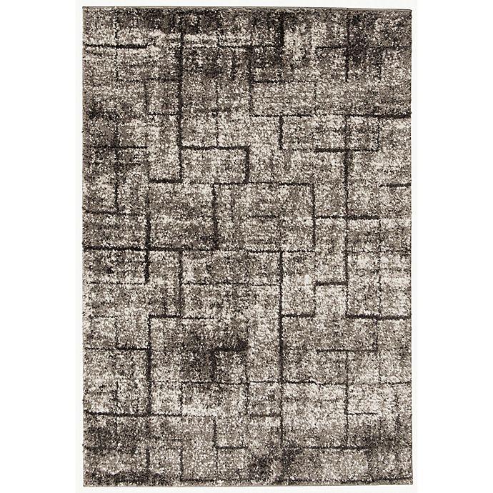 Alternate image 1 for ECARPETGALLRY Halle Shag Area Rug in Light Grey