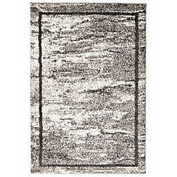 ECARPETGALLERY Kivi Shag Area Rug in Grey