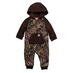Carhartt® Fleece Long Sleeve ZIpper Front Camo Coverall in Mossy Oak