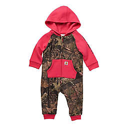 Carhartt® Zip-Front Camo Hooded Coverall in Mossy Oak
