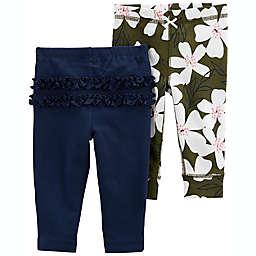 carter's® 2-Pack Cotton Pants