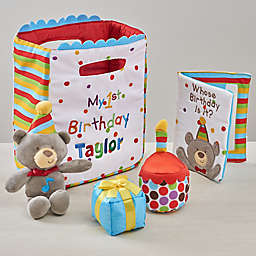 My First Birthday Personalized Playset by Baby Gund®