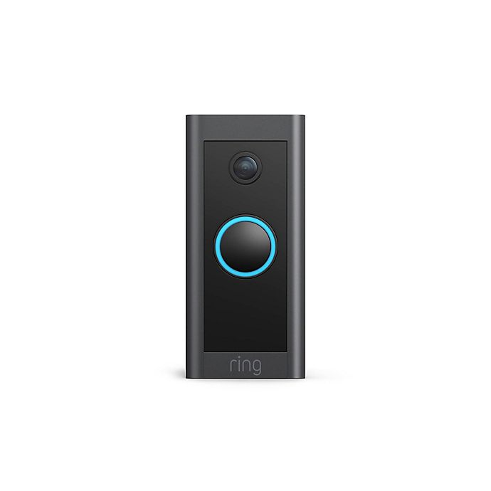 Alternate image 1 for Ring Wired Video Doorbell in Black
