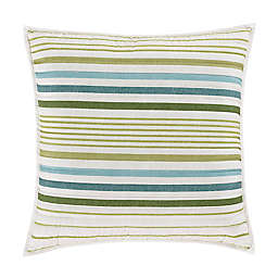 J. Queen New York™ Roxanne Trimmed Square Throw Pillow