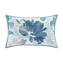 J. by J. Queen New York Mikayla Oblong Throw Pillow in Blue
