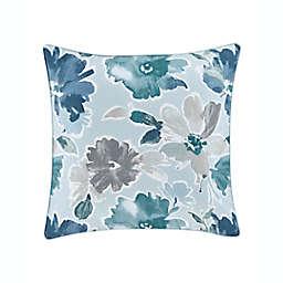 J. by J. Queen New York Mikayla European Pillow Sham in Blue