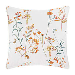 J. Queen New York™ Bridget Square Throw Pillow in Coral