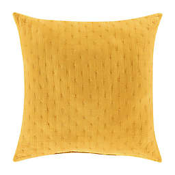 J. Queen New York™ Nora Square Throw Pillow in Yellow
