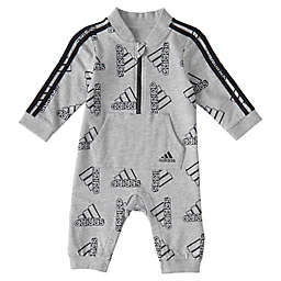adidas® Printed Tracksuit Coverall in Grey