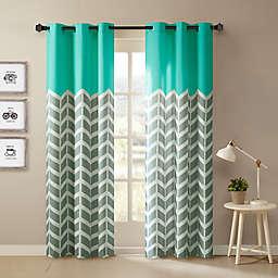 Intelligent Design Alex Room Darkening Grommet Top Window Curtain Panels (Set of 2)