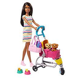 Mattel 11-Piece Barbie® Stroll 'n Play Pup Playset
